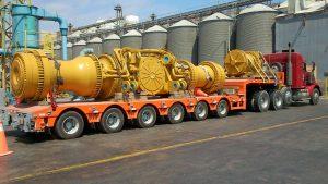 Transporte de carga extrapesada
