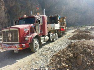 Transportes de Insumos químicos y bienes fiscalizados