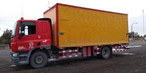 Transporte de carga de 4 TN a 15 TN